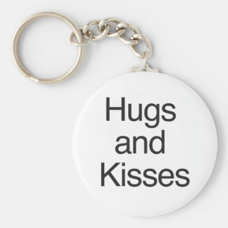 Hugs and Kisses Key Chains