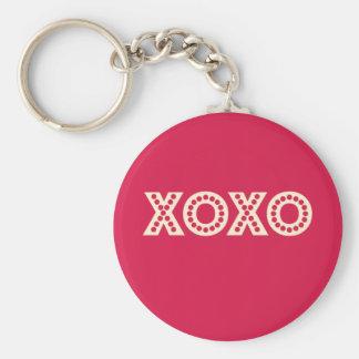 Hugs and Kisses Keychain