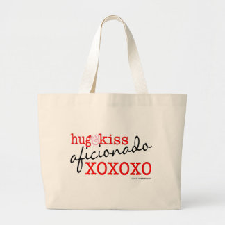 Hugs and Kisses Large Tote Bag