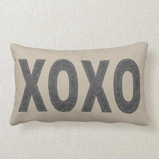 Hugs and Kisses Lumbar Pillow
