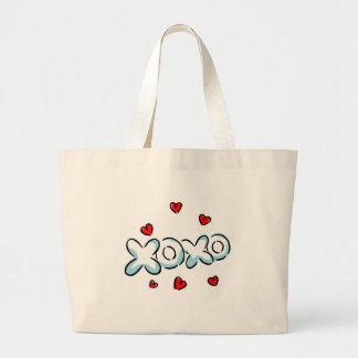 Hugs and Kisses Merchandise Jumbo Tote Bag
