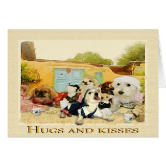 Hugs and Kisses, Mom You Are The Best Card