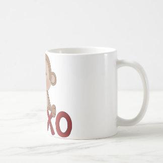 Hugs and Kisses monkey Coffee Mugs