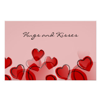 Hugs and Kisses Poster