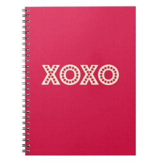 Hugs and Kisses Spiral Note Books