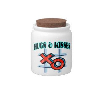 Hugs And Kisses XO Candy Dish