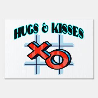 Hugs And Kisses XO Sign