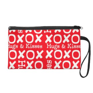 Hugs and Kisses Clutch Wristlets