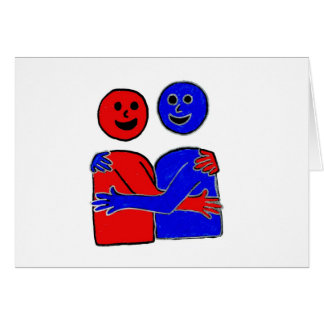Hugs are Magic Greeting Cards