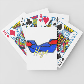 Hugs Bicycle Playing Cards