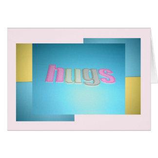 Hugs Birthday Card