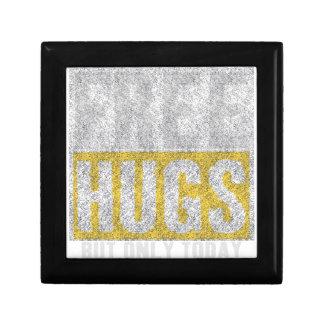 Hugs design gift box