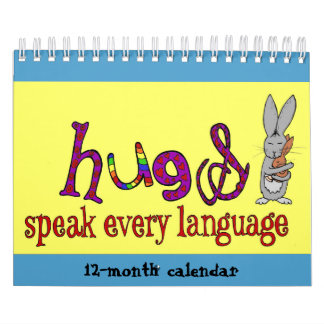 Hugs Doodle Calendar 2019 (Small)