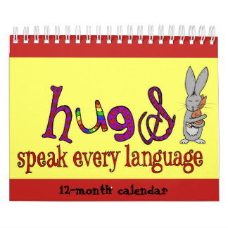 Hugs Doodle Calendar 2019v(small)