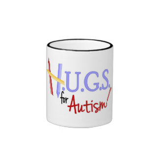 HUGS for Autism 2-tone Mug