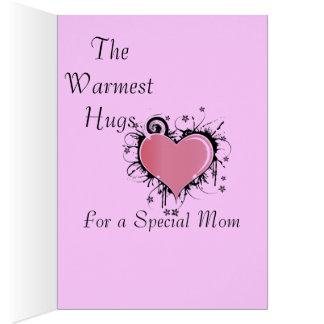 Hugs For Mom Card