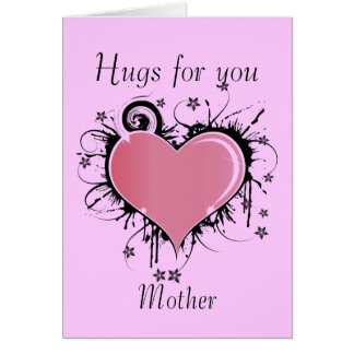 Hugs For Mother Card