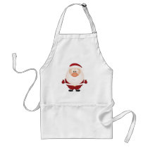 Hugs from Santa Claus Adult Apron