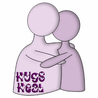Hugs Heal Symbol Purple Statuette
