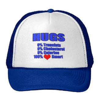 hugs - heart healthy trucker hat