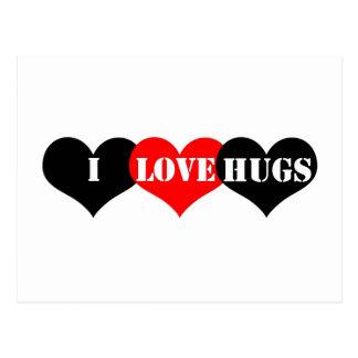 Hugs Heart Postcard
