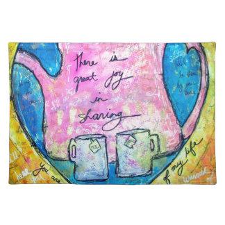 Hugs in a pot placemat