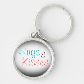 Hugs & Kisses Keychain