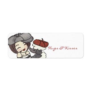 Hugs & Kisses Label