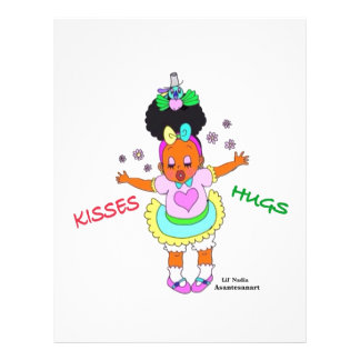 Hugs&Kisses Letterhead