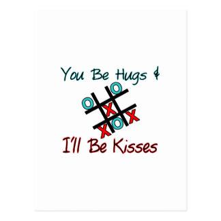 Hugs & Kisses Post Cards