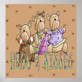 Hugs & Kisses Poster