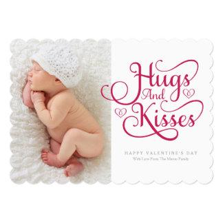 Hugs & Kisses | Red Script Card