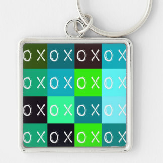 ╳◯╳◯ Hugs & Kisses! template keychain Keychains