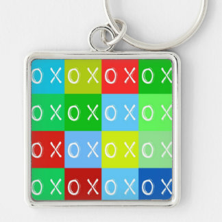 ╳◯╳◯ Hugs & Kisses! template keychain Key Chains