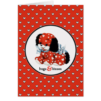 Hugs & Kisses. Valentine's Day Custom Cards