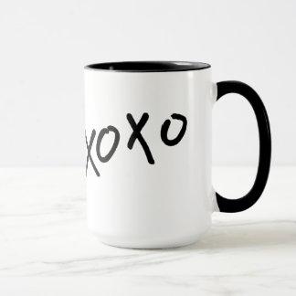 Hugs & Kisses xoxo Coffee Cup