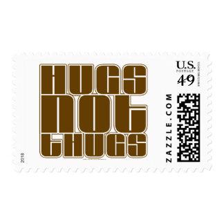 Hugs Not Thugs Stamp