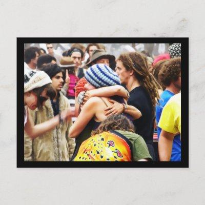 Hugs on the Dancefloor postcard