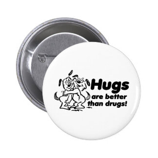 Hugs or Drugs? Pinback Buttons