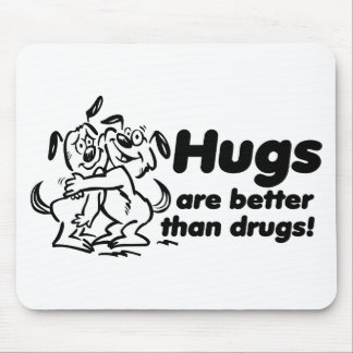 Hugs or Drugs? Mouse Pad