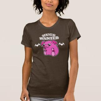 hugs wanted T T-shirt
