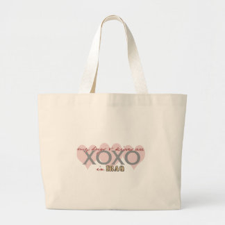 HugsandKisses2CAMO Jumbo Tote Bag