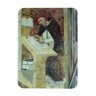 Hugues de Provence at his Desk, from the Cycle of Rectangular Photo Magnet