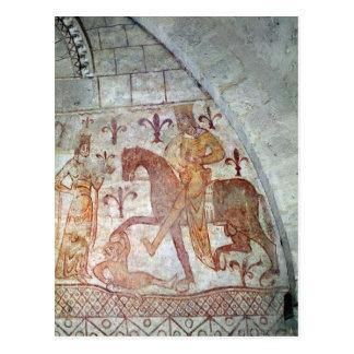Hugues IX Lusignan Postcard