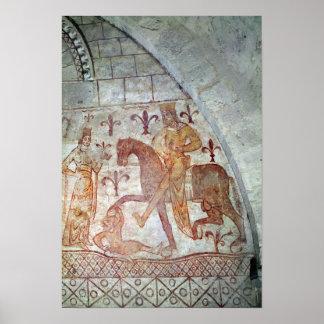 Hugues IX Lusignan Poster