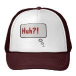 ¡Huh?! Piense el gorra de la burbuja