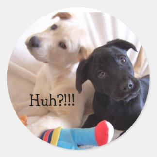 , Huh?!!! sticker