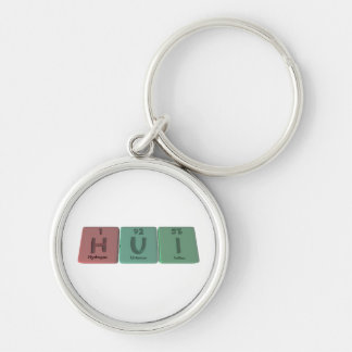 Hui as Hydrogen Uranium Iodine Keychains