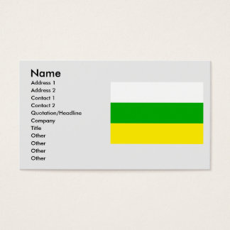 Huila, Columbia Business Card