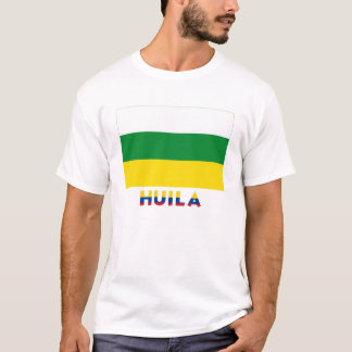 Huila Flag with Name T-Shirt